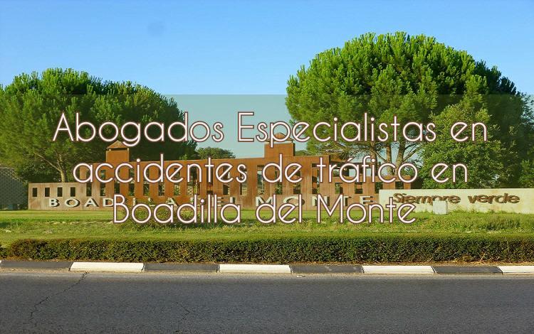 Abogados especialistas en accidentes de tráfico en Boadilla del Monte