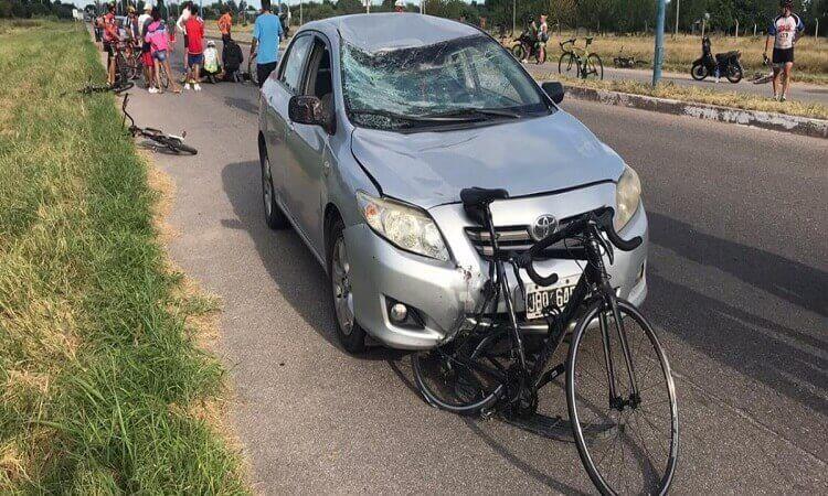 Indemnización a ciclista atropellado