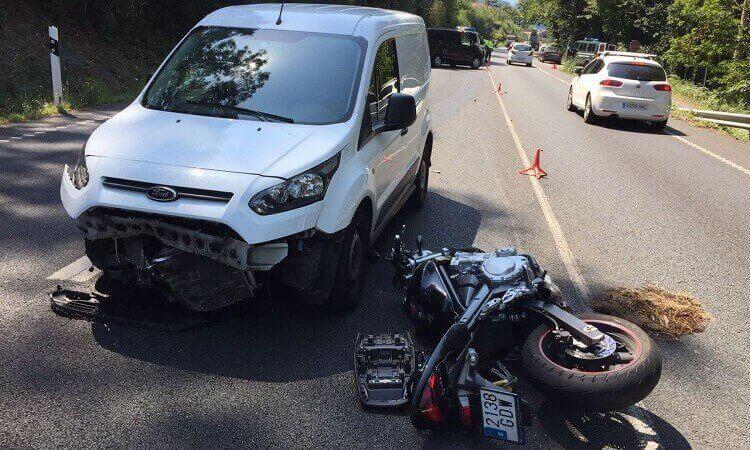 Indemnizaciones por lesiones en accidentes en moto