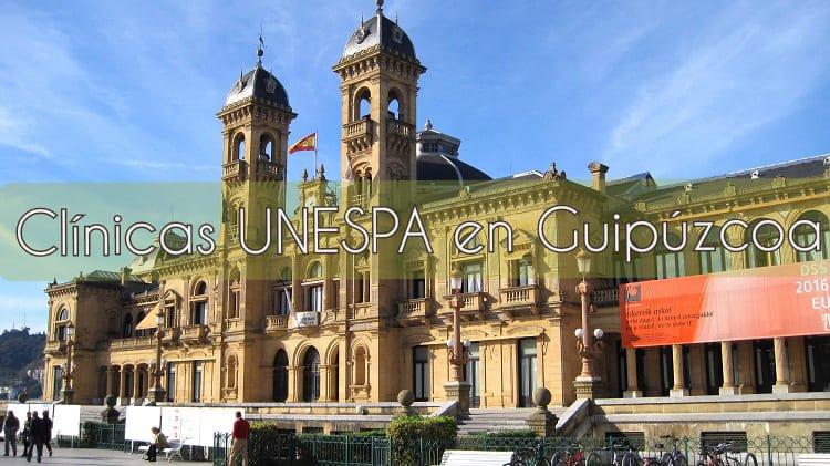 Clínicas UNESPA en Guipúzcoa