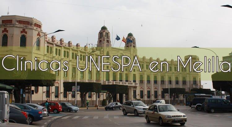 Clínicas UNESPA en Melilla