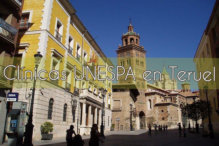 Clínicas UNESPA en Teruel