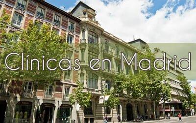 Clínicas UNESPA en la ciudad de Madrid