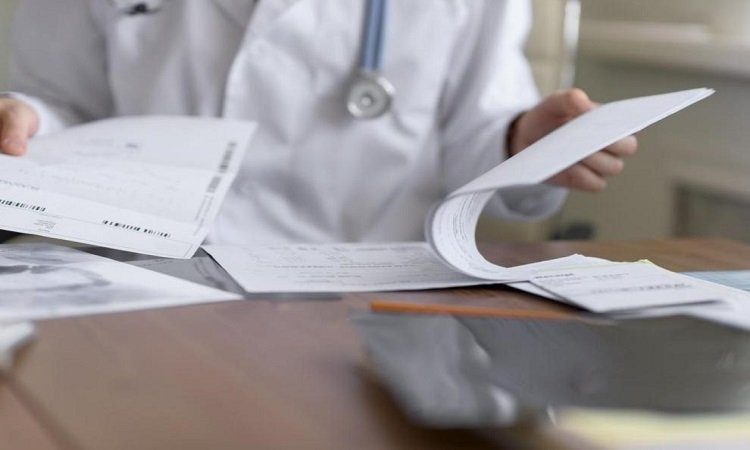 Informe médico en un accidente de tráfico