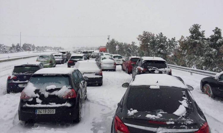 Como reclamar una indemnizacion por accidente de trafico en la nieve o hielo